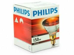 Lâmpada INFRAVERMELHO Fabricante Philips Lamp 150 W /125-130 Volts INFRARED PAR 38 Tipo Rosca