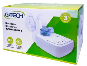 Inalador e Nebulizador Ultrassônico Modelo G-TECH Ultraneb Desk 2 ACCUMED